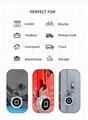 5V Fingerprint Padlock for Backpack, Suitcase, Door, Cabinet, Bike 9