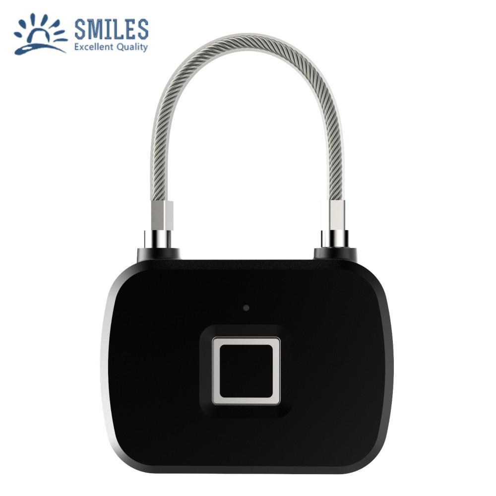 Keyless Intelligent Fingerprint Padlock For Backpacks, Suitcases, Doors,Bike 1