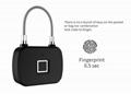 Keyless Intelligent Fingerprint Padlock For Backpacks, Suitcases, Doors,Bike 5