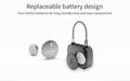 Keyless Intelligent Fingerprint Padlock For Backpacks, Suitcases, Doors,Bike 7