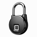 Intelligent IP66 Waterproof Keyless Bluetooth Fingerprint Padlock  3