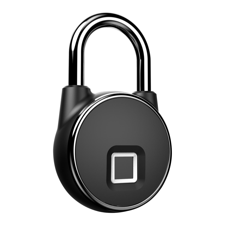 Intelligent IP66 Waterproof Keyless Bluetooth Fingerprint Padlock  4