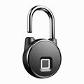 Intelligent IP66 Waterproof Keyless Bluetooth Fingerprint Padlock  5