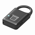 Semiconductor Sensor Small Fingerprint Padlock With USB Charger  3