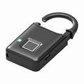 Semiconductor Sensor Small Fingerprint Padlock With USB Charger  4