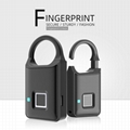 Semiconductor Sensor Small Fingerprint Padlock With USB Charger  6