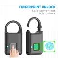 Semiconductor Sensor Small Fingerprint Padlock With USB Charger  10