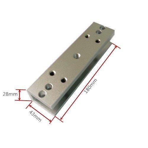 U-bracket for 180 KG Magnetic lock Fit for Frameless Glass Door 3
