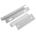 600LBS/280KG Bracket For Fully Frameless Glass Door 3