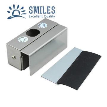 Stainless Steel Small U Bracket  for Frameless Glass Door  1