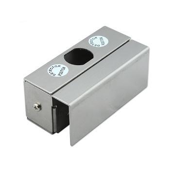 Stainless Steel Small U Bracket  for Frameless Glass Door  2
