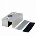 Frameless Glass Door Aluminium  Small U Type Clamp Bracket 3