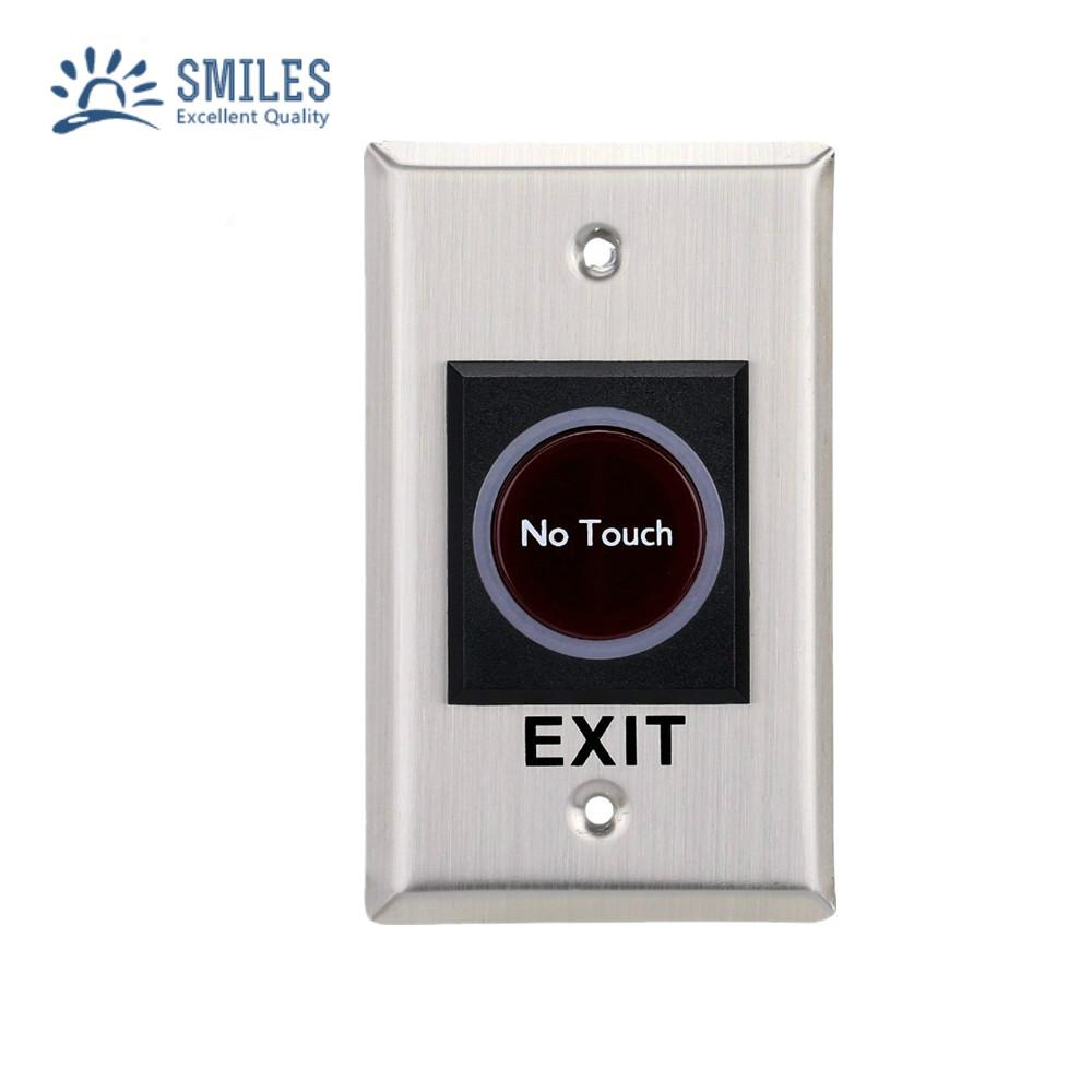 No Touch Infrared Sensor Exit Button For Door Access Control 1