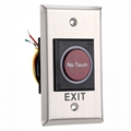 No Touch Infrared Sensor Exit Button For Door Access Control 2