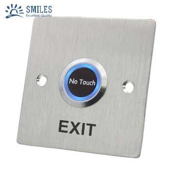 86 Type Square Touchless Sensor Exit Button 1