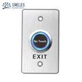 Aluminium Alloy Contactless Door Release Exit Switch Support Range Adjust