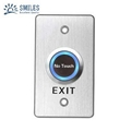 Aluminium Infrared Sensor Touchless Door Exit Button with Distance Adjustable