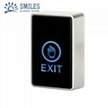 Touch Screen Exit Button For Door Access Control With Led 1