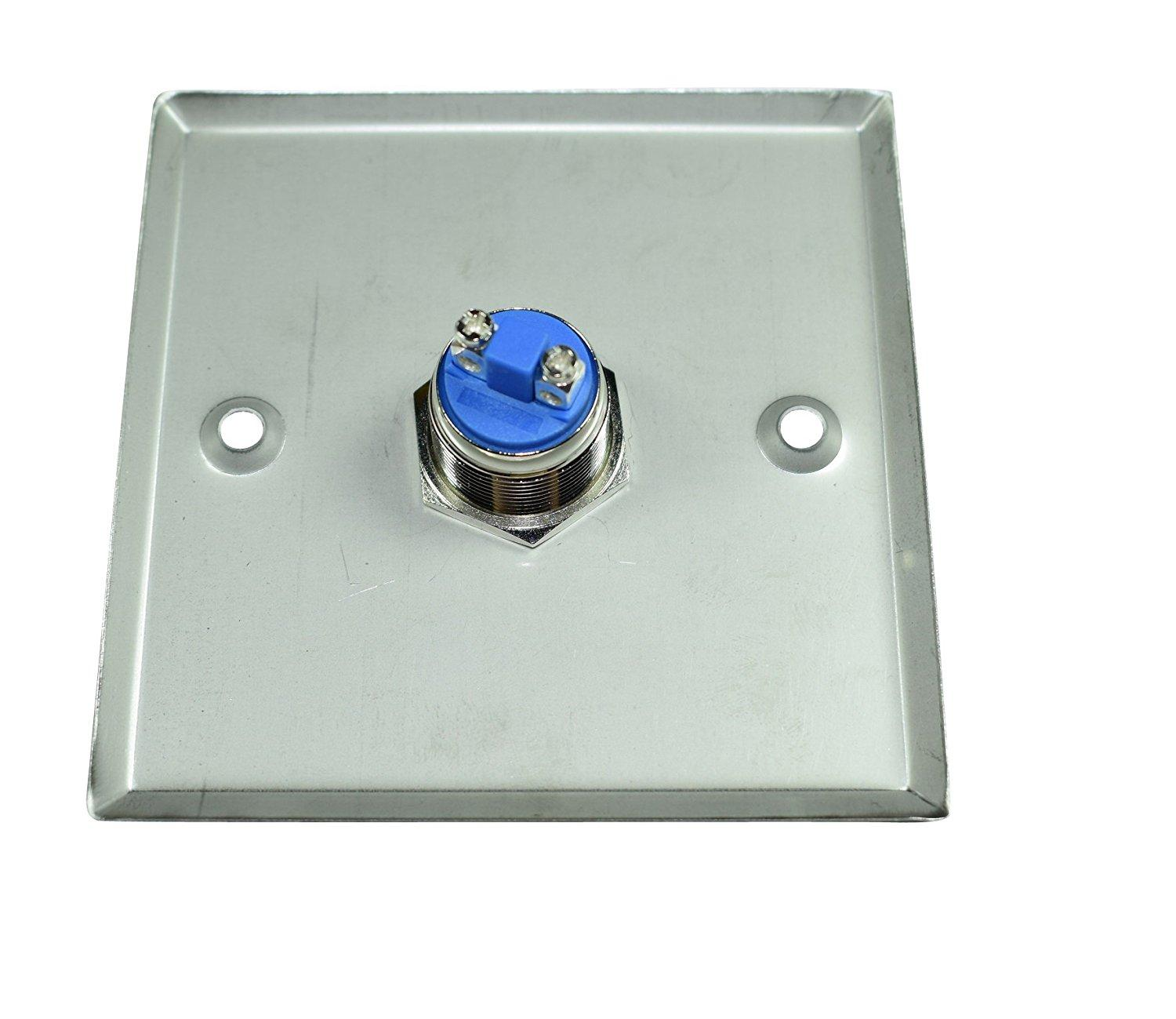 Square Type DC12V Stainless Steel Exit Button 2