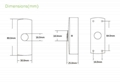 Zinc Alloy Door Exit Release Push Button For Access Control System  4