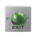 Square Shape Zincy Alloy Mushroom Door Exit Push Button For Access Control Syste 2