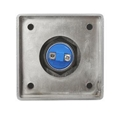 Square Shape Zincy Alloy Mushroom Door Exit Push Button For Access Control Syste 5
