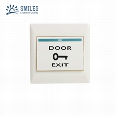 Plastic Door Exit Push Button For Access Control System
