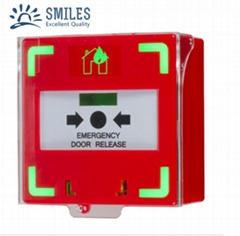 Alarm Reset Switch Call Point with Dual LED and Plastic Cover