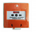 Alarm Reset Switch Call Point with Dual LED and Plastic Cover  3