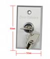 Emergency Metal Key Switch Fire Emergency Button  3
