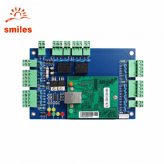 TCP/IP Double Doors Access Control Board Support Four Readers With Free Software