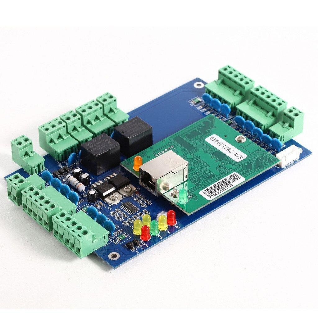 TCP/IP Double Doors Access Control Board Support Four Readers With Free Software 2