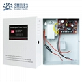 5A 110V Access Control Power Supply Box Support External Backup Battery