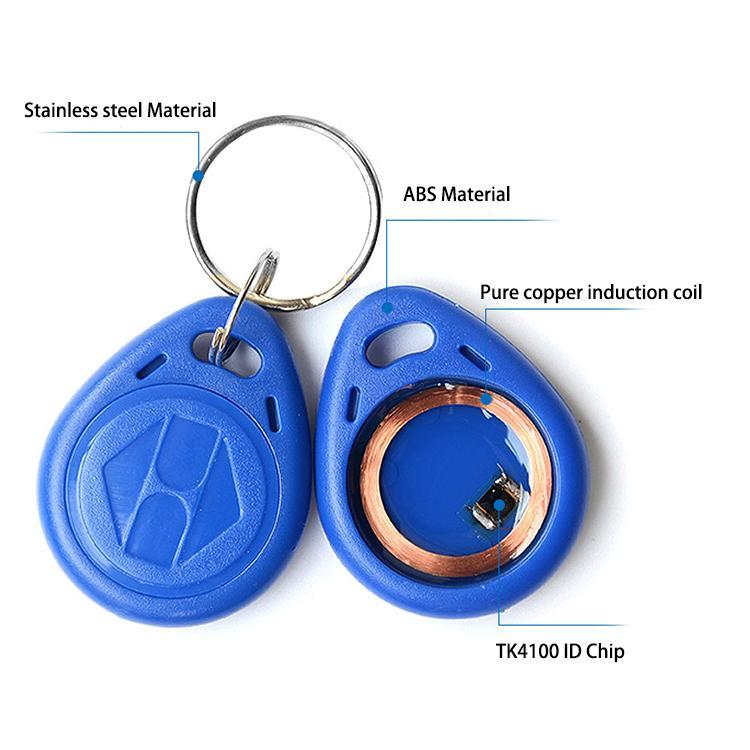 Waterproof 125khz Contactless RFID Keytag/EM Keyfob/Keychain 4
