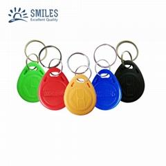 13.56mhz Smart RFID Keyfob/Mifare Keytag/Waterproof Keychain for Access Control