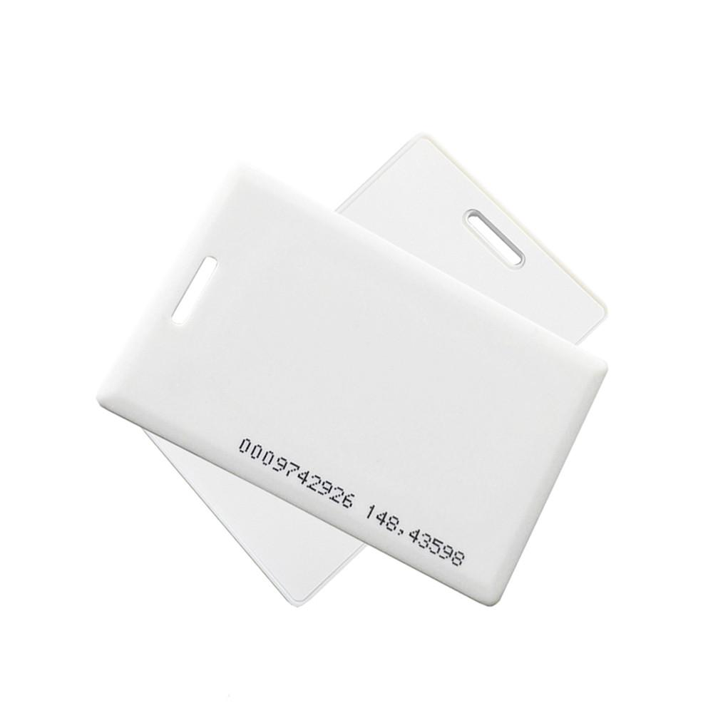 Proximity 125KHZ RFID Thick Card For Access Control/Elevator  2