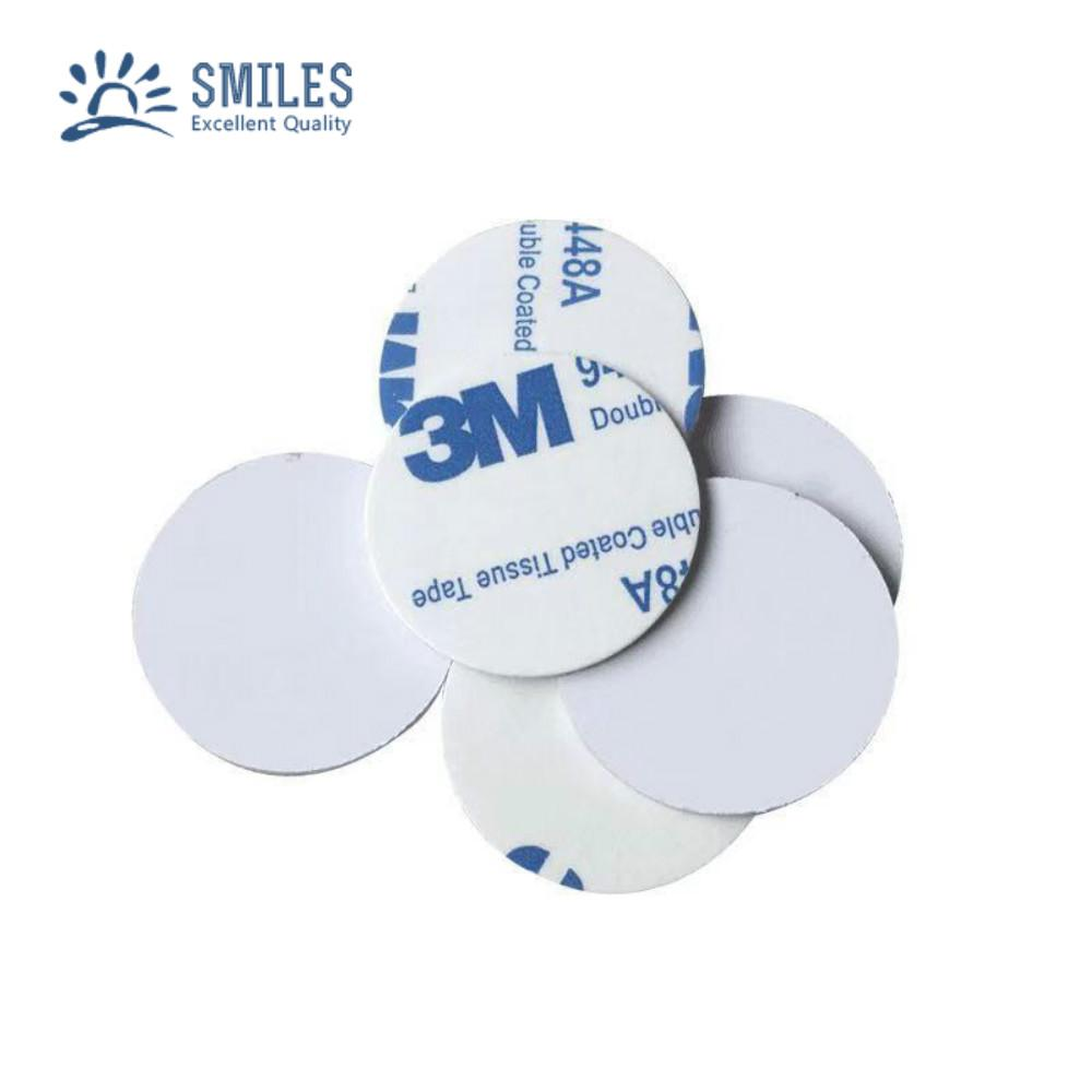 Waterproof 125KHZ Round Stickers/RFID Coin Tag  1