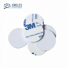 Waterproof 125KHZ Round Stickers/RFID Coin Tag