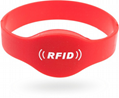 Waterproof 125KHZ RFID EM Silicon Wristbands For Access control  2