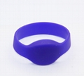 Waterproof 125KHZ RFID EM Silicon Wristbands For Access control  9