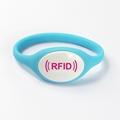125KHz/13.56MHZ Proximity RFID Bracelets / Silicone Wristband 2