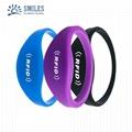 Silicone Soft RFID Bracelet/TK4100 Wristband For Access Control/GYM  1