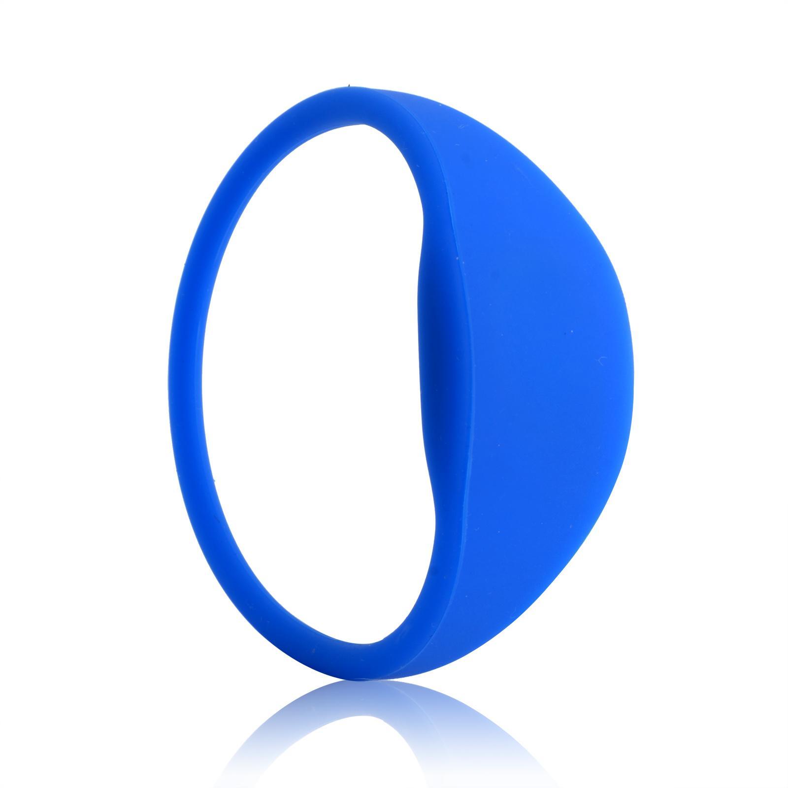 Silicone Soft RFID Bracelet/TK4100 Wristband For Access Control/GYM  2