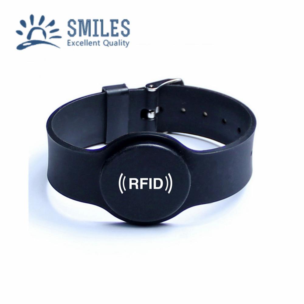 Adjustable EM/Mifare Wristband/ RFID Keytag Waterproof Bracelets  1
