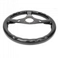 High Quality 320MM Universal Racing Car Carbon Fiber Steering Wheel
