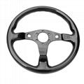 High Quality 320MM Universal Racing Car Carbon Fiber Steering Wheel 3