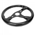 High Quality 320MM Universal Racing Car Carbon Fiber Steering Wheel 4