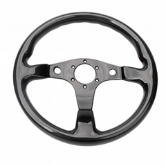High Quality 320MM Universal Racing Car Carbon Fiber Steering Wheel