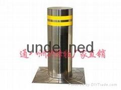 贵州贵阳 自动升降警示带灯升降柱