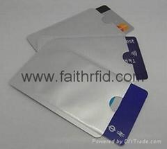 RFID blocking Sleeve RFID Card Blocker
